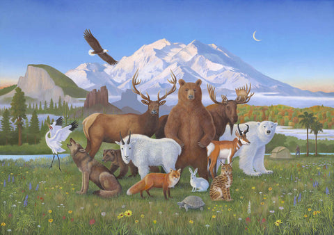 A Peaceable Kingdom of Wilderness