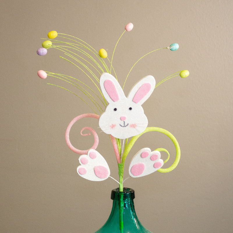 Easter Bunny with Eggs Spray