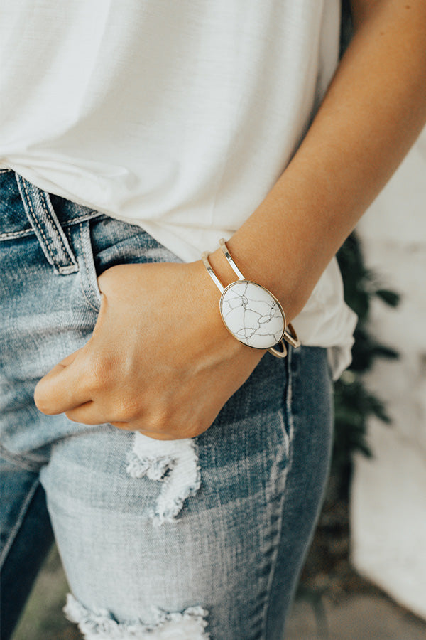 Such A Babe Bracelet In White