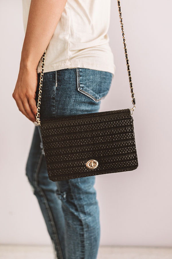 Hollywood Socialite Purse in Black