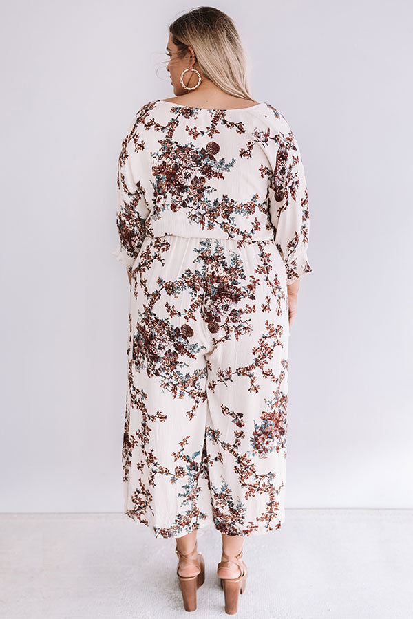 Gifted And Gorgeous Floral Jumpsuit