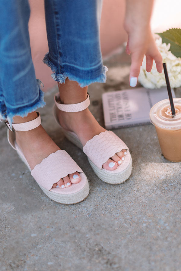 The Tipton Espadrille In Light Latte