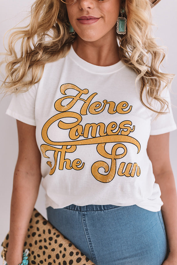 Here Comes The Sun Shift Tee