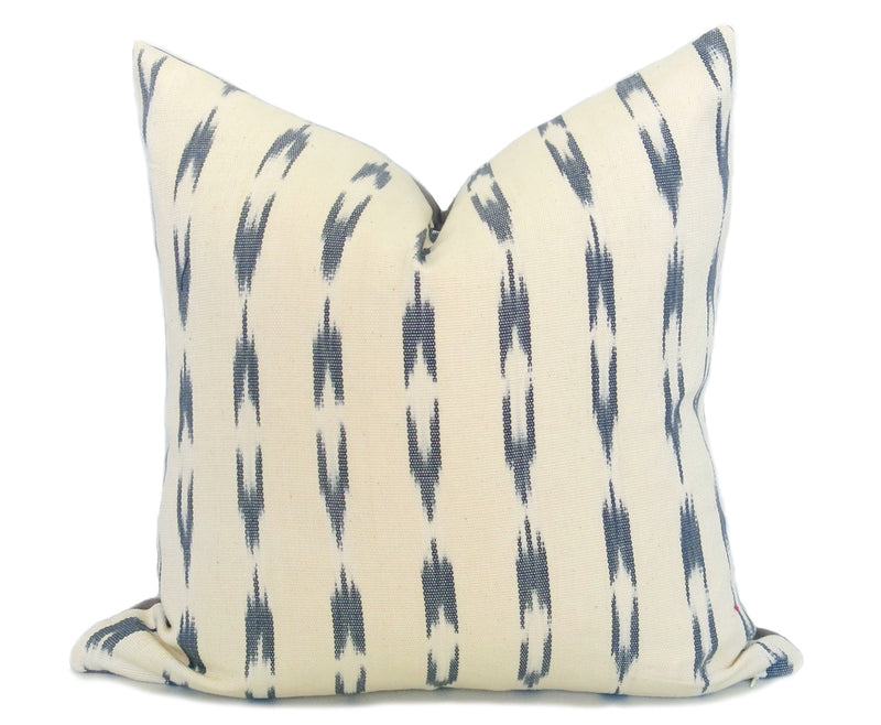 Turkish Stripe Pillow Cover - Tan