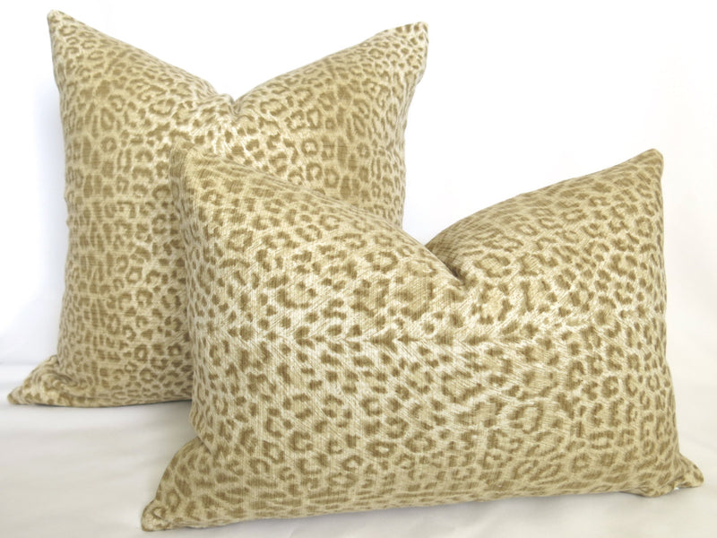 Snow Leopard Pillow Cover