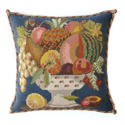 Bowl of Fruit Needlepoint Kit Elizabeth Bradley Design