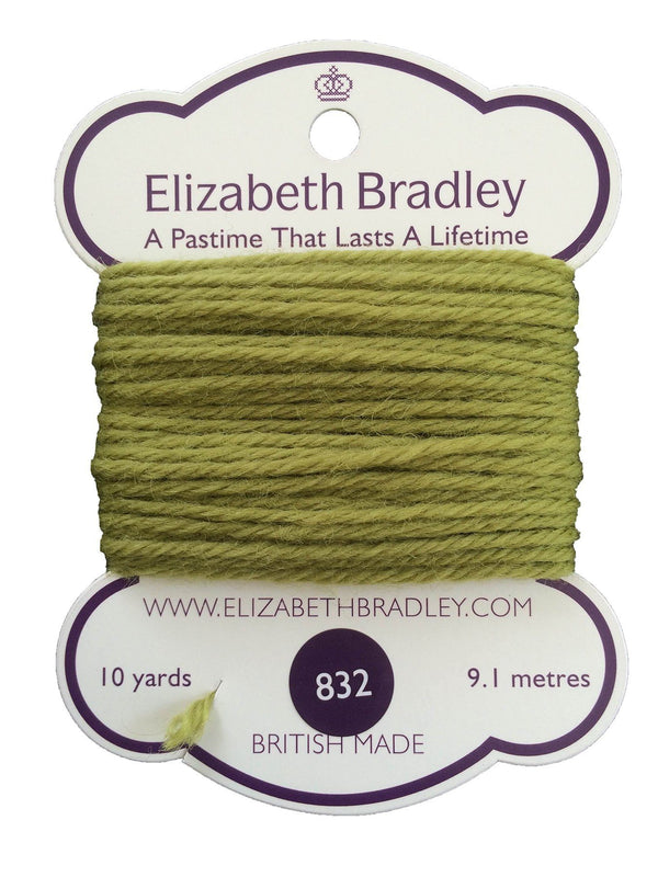 Tapestry Wool Colour 832 Tapestry Wool Elizabeth Bradley Design