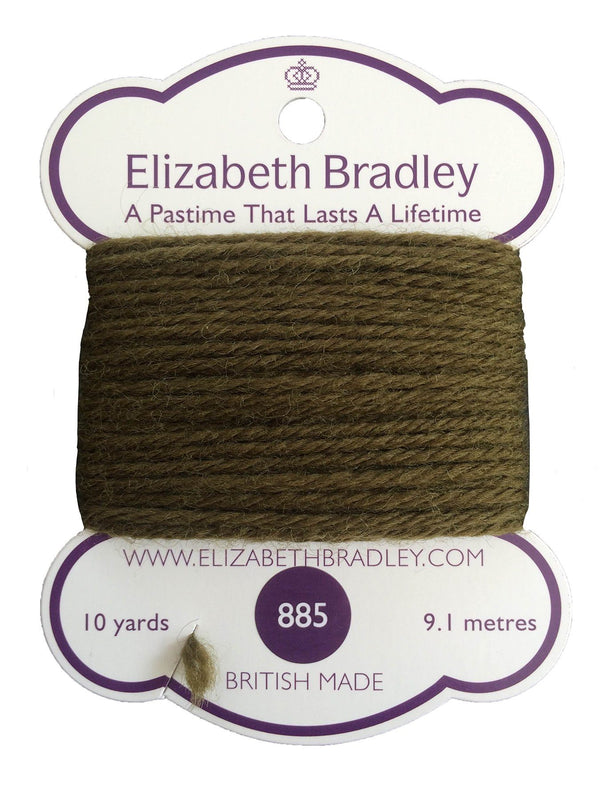 Tapestry Wool Colour 885 Tapestry Wool Elizabeth Bradley Design