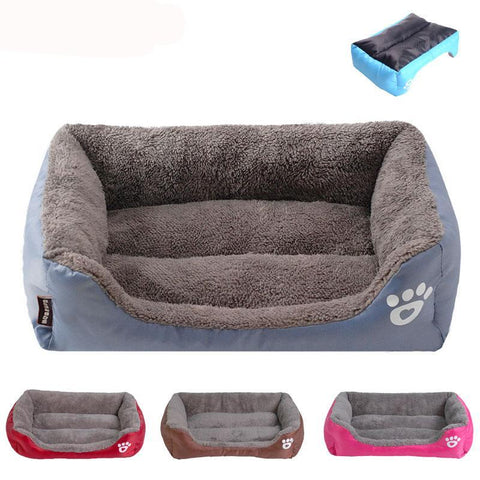 DogHeaven Fleece Bed