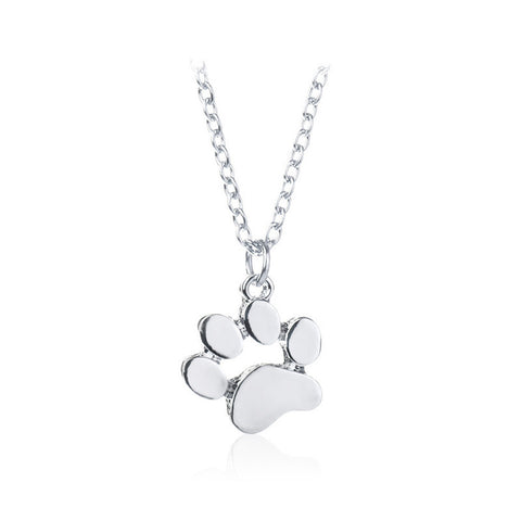 Classy Dog Footprint Necklace