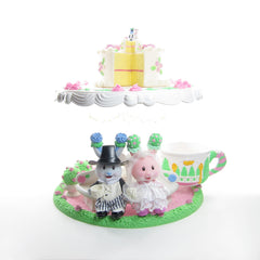 Tea Bunnies Light-Up Wedding Gazebo Tea Party Playset