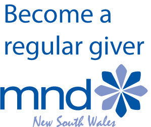 Become an MND NSW regular giver