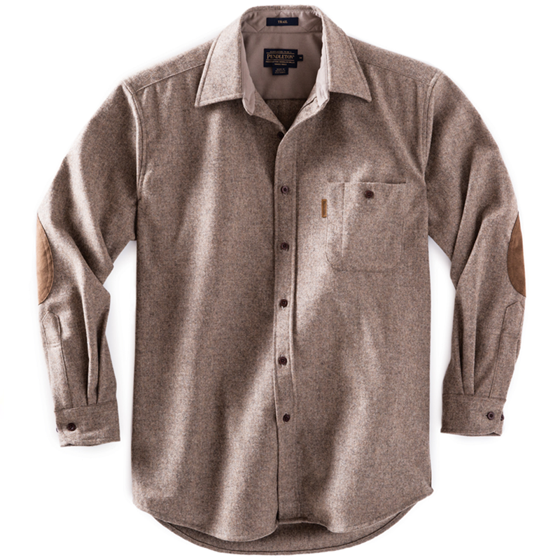 Fitted Trail Shirt - Taupe Mix