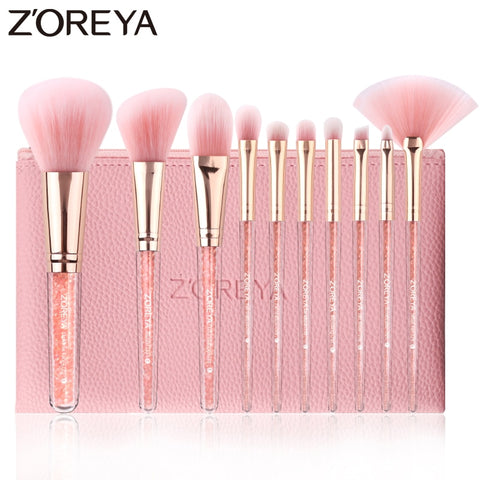 Crystal™ Makeup Brushes