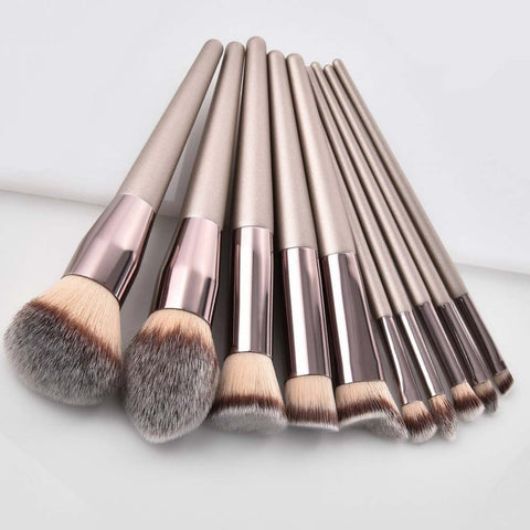 Luxury Champagne™ Make up Brushes
