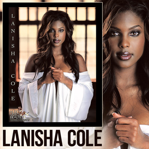 Lanisha Cole - Music Video Beauties RARE 8x10 Glossy: White Robe<br/>*Signed Option Available