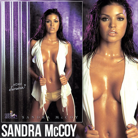 Sandra McCoy - Music Video Beauties 24x36 Wall Poster