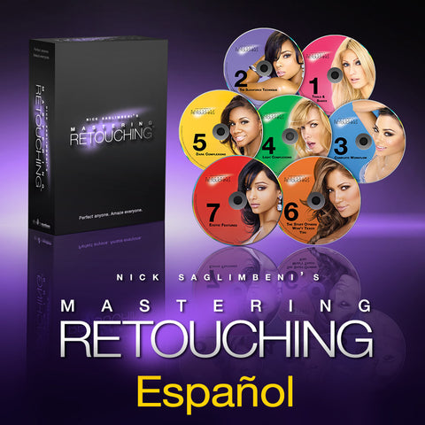 Mastering Retouching™ - 7 Niveles </br> Español: Disponible Como Descarga