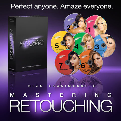 Mastering Retouching™ - 7 Levels Download or DVD Box Set