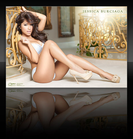 "Jessica Burciaga 24""x36"" WMB </br>Wall Poster <b>* Signed Poster Available!</b>"