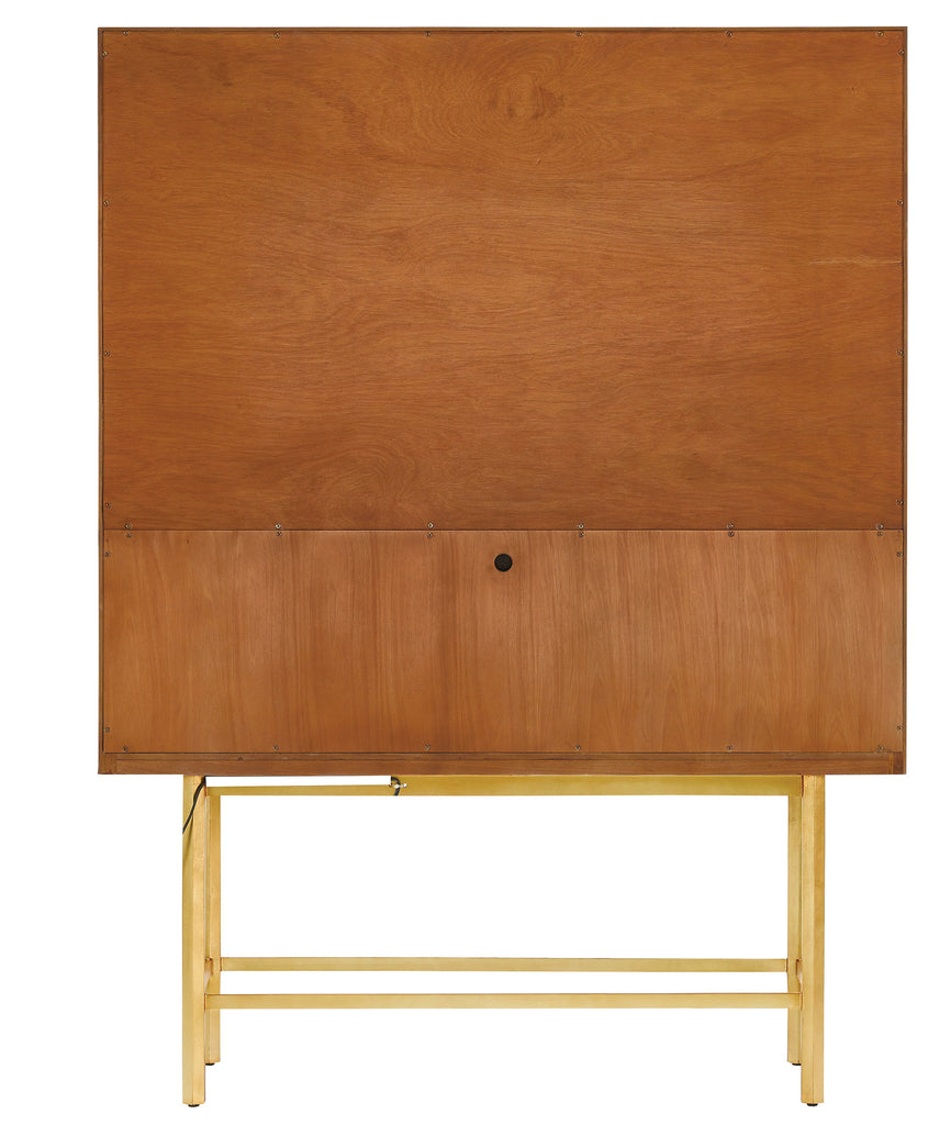 Bohlend Cabinet in Natural design by Currey & Company