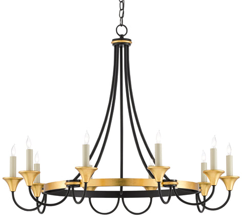 Hanlon Chandelier by Currey & Company
