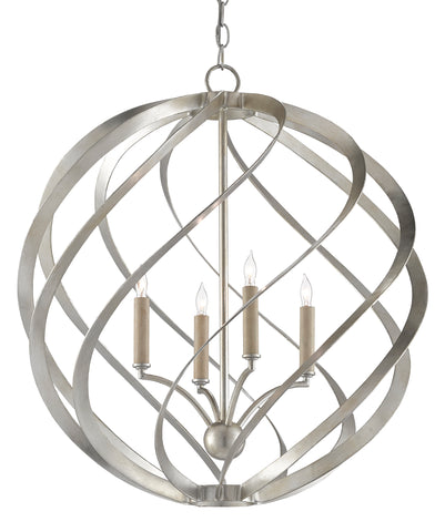 Roussel Orb Chandelier by Currey & Company