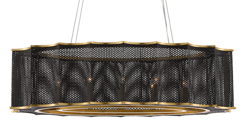 Nightwood Chandelier by Currey & Company