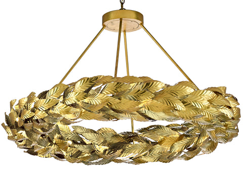 Apollo Chandelier by Currey & Company
