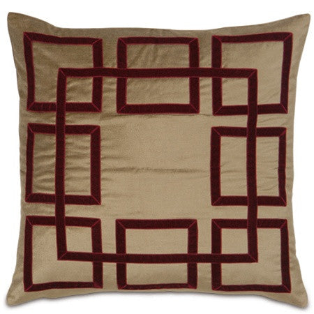 Noble Squares Designer Pillow design by Studio 773