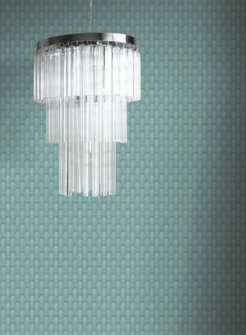 Club Diamond Wallpaper from the Deco Collection by Antonina Vella for York Wallcoverings