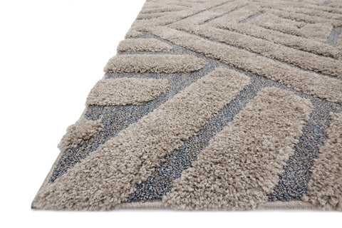 Enchant Rug in Grey & Slate design by Loloi