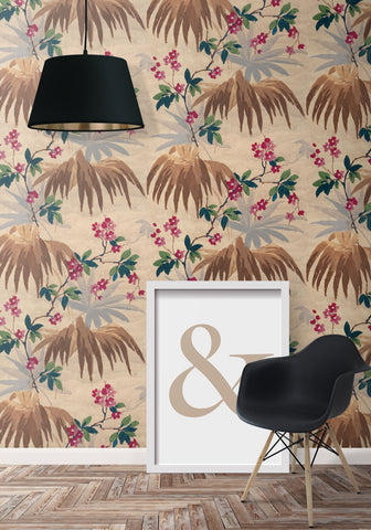 Halcyon Wallpaper from the Erstwhile Collection by Milton & King
