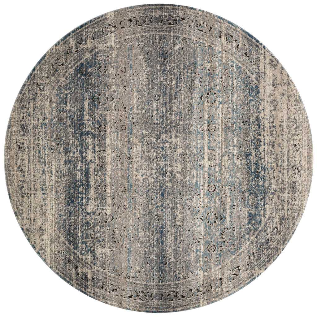 Millennium Rug in Grey & Blue by Loloi
