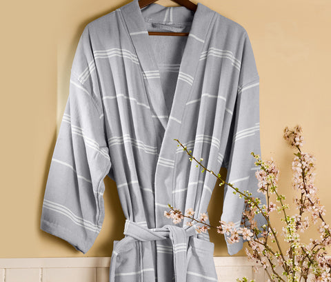 PeshTerry Robe in Assorted Colors design by Turkish Towel Company