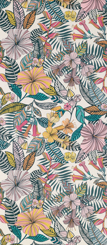 Valldemossa Wallpaper in colourful flowers from the Deya Collection by Matthew Williamson