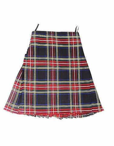Casual Kilt - Black Stewart