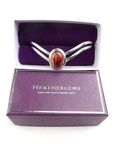 Heathergems Ladies V Bangle