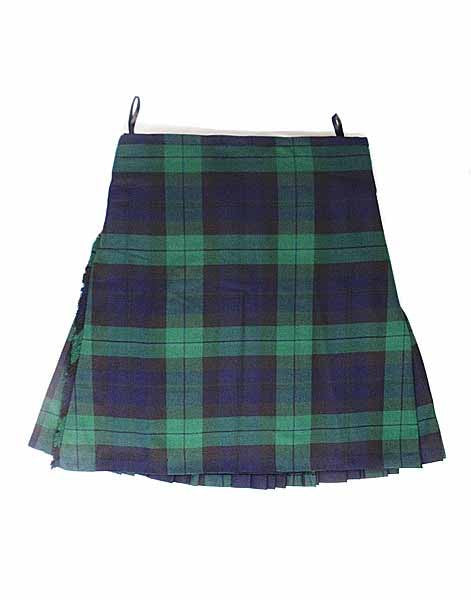 Casual Kilt - Black Watch