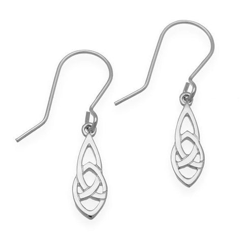 Celtic Silver Earings