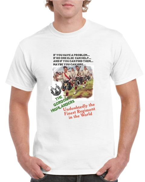 Gordon Highlanders T-Shirt (Charge!)