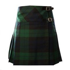 Ladies Casual Kilt - Black Watch