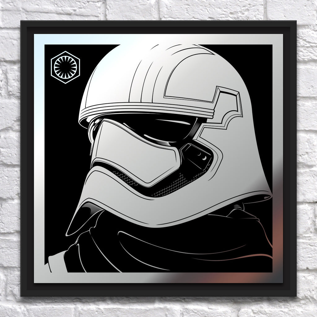 "Joshua Budich - ""Captain Phasma"" - Mirror Steel"