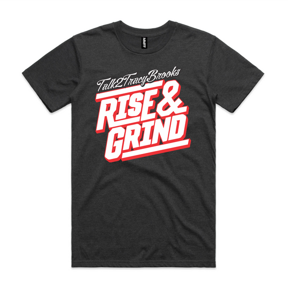 RISE AND GRIND UNISEX TEE