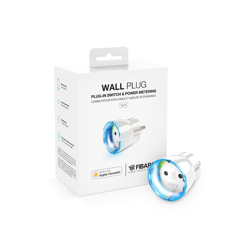 Wall Plug Type F - Apple Home Kit - [Smart Home], [Home Automation], [Smart Home Systems Dubai UAE], [Smart3]