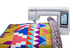 Janome Horizon Memory Craft 9400 QCP, long arm quilting machine