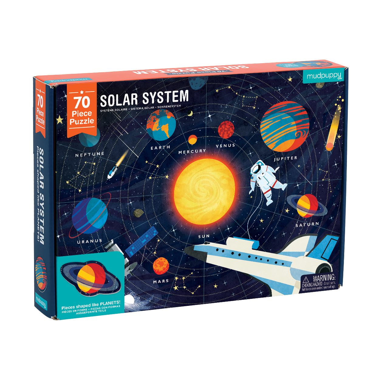 Geography Puzzle - Solar System