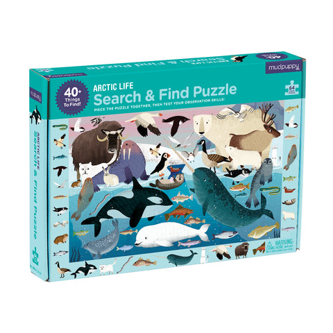 Arctic Life - Search and Find Puzzle