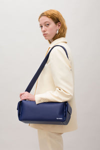 DARK BLUE BAULETTO BAG