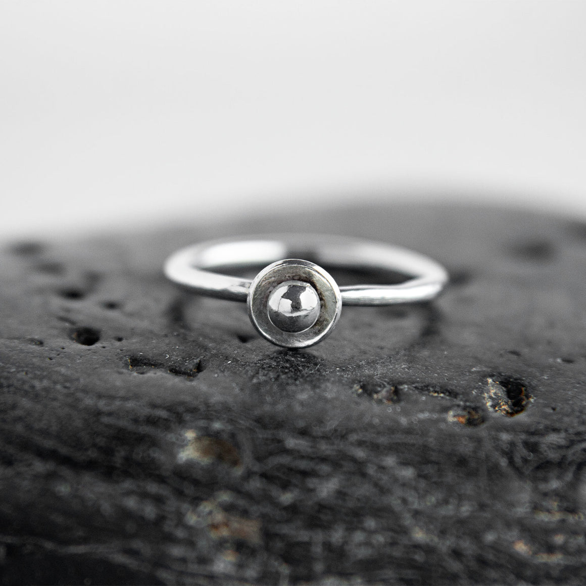 Olympia Sterling Silver Stacking Ring available at Micky Chase Jewelry